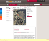 Dialogue in Art, Architecture, and Urbanism, Fall 2003