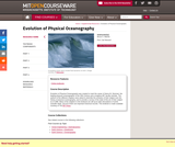 Evolution of Physical Oceanography, Spring 2007