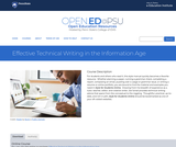 Effective Technical Writing in the Information Age