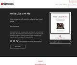 Write Like a PR Pro