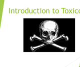 EMS233 Paramedic Medical Emergencies PowerPoint Slides for Toxicology Lecture