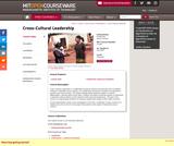 Cross-Cultural Leadership, Fall 2004