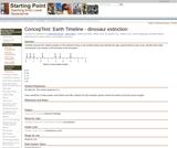 ConcepTest: Earth Timeline - dinosaur extinction