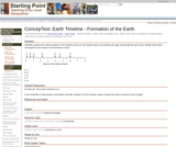 ConcepTest: Earth Timeline - Formation of the Earth