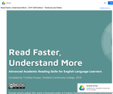 Read Faster, Understand More