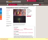 Computational Camera and Photography, Fall 2009