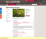 Digital Design Fabrication, Fall 2008