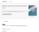 Blockchain and Smart Contracts Ancillary Materials