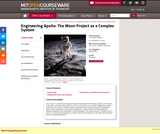 Engineering Apollo: The Moon Project as a Complex System, Spring 2007