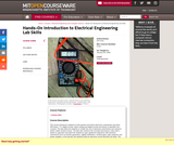 Hands-On Introduction to Electrical Engineering Lab Skills, January (IAP) 2008