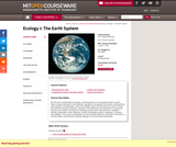 Ecology I: The Earth System, Fall 2009