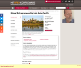 Global Entrepreneurship Lab: Asia-Pacific, Fall 2010