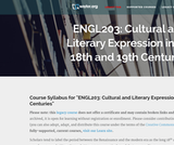 Cultural and Literary Expressions in the 18th and 19th Centuries